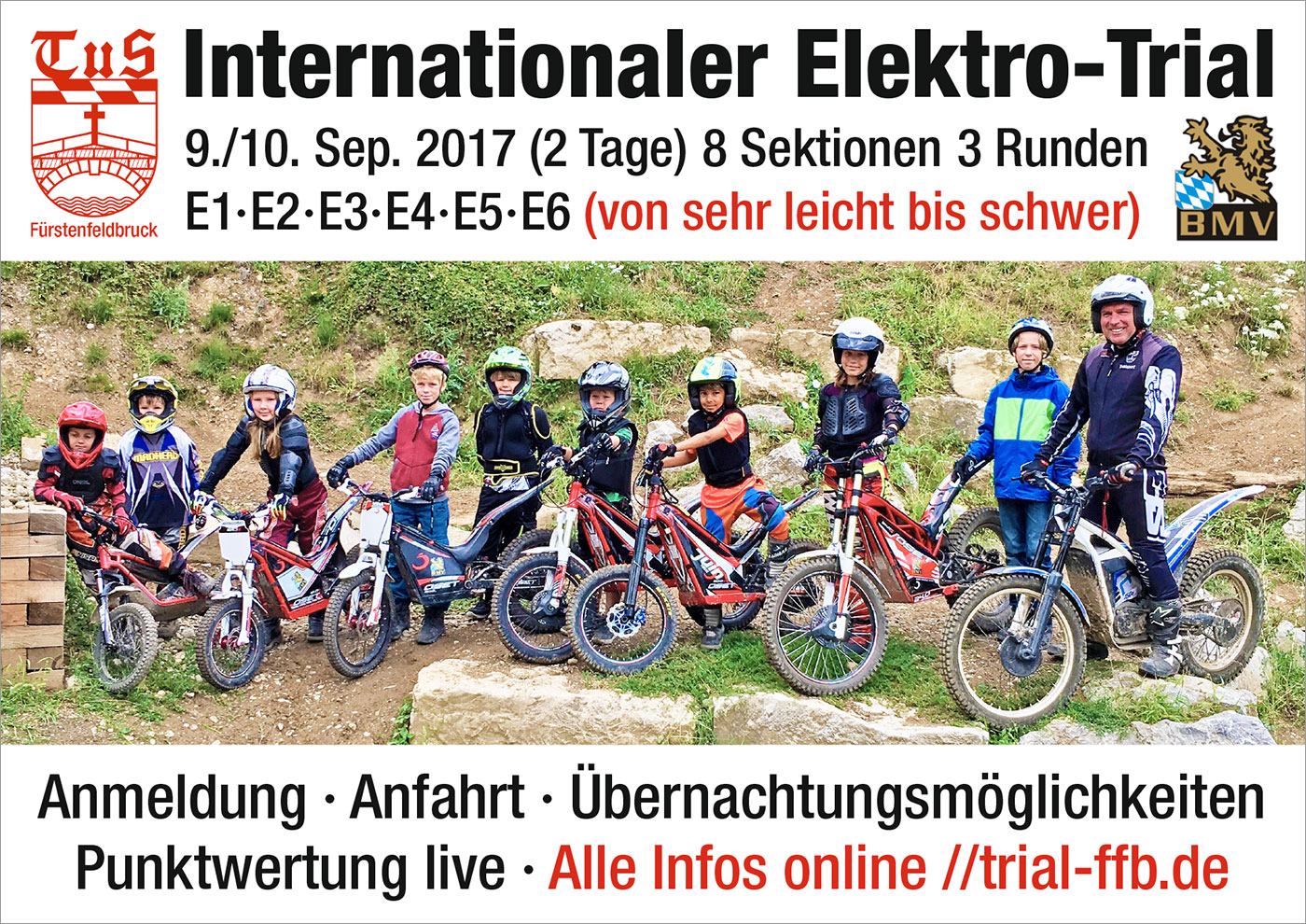 Internationaler Elektro-Trial 9./10. September 2017